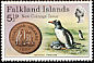 Gentoo Penguin Pygoscelis papua  1975 New coinage 4v set
