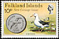 Black-browed Albatross Thalassarche melanophris  1975 New coinage 4v set
