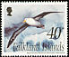 Black-browed Albatross Thalassarche melanophris  2002 West Point Island 4v set