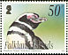 Magellanic Penguin Spheniscus magellanicus  2004 Sea Lion Island 4v set