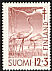 Common Crane Grus grus  1951 Tuberculosis relief fund