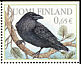 Northern Raven Corvus corax  2004 Woodland animals 6v sheet