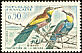 European Bee-eater Merops apiaster  1960 Nature protection