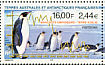 Emperor Penguin Aptenodytes forsteri  2000 Demographic data Strip