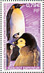 Emperor Penguin Aptenodytes forsteri  2002 Animals and their young 4v sheet