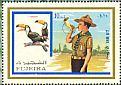 Toco Toucan Ramphastos toco  1972 Scouts and birds