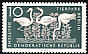 Greater Flamingo Phoenicopterus roseus  1956 Berlin Zoo 6v set