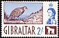 Barbary Partridge Alectoris barbara  1960 Definitives