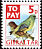 European Greenfinch Chloris chloris  2002 Birds - postage due