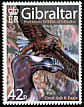 White-tailed Eagle Haliaeetus albicilla  2007 Prehistoric wildlife of Gibraltar 5v set