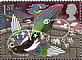 Eurasian Magpie Pica pica  1991 Greetings stamps 10v booklet