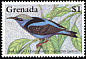 Red-legged Honeycreeper Cyanerpes cyaneus