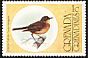 Cocoa Thrush Turdus fumigatus  1976 Flora and fauna 7v set