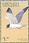 Laughing Gull Leucophaeus atricilla  1999 Flora and fauna 9v sheet