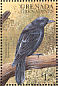 Common Grackle Quiscalus quiscula  1999 Flora and fauna 9v sheet