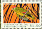 Red-crowned Amazon Amazona viridigenalis  2000 Birds of the Caribbean Sheet