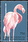 American Flamingo Phoenicopterus ruber  2001 Animal life of the tropics 4v set