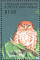 Cuban Pygmy Owl Glaucidium siju  2001 Animal life of the tropics 6v sheet