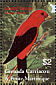 Scarlet Tanager Piranga olivacea  2003 Birds of the world Sheet