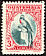 Resplendent Quetzal Pharomachrus mocinno  1935 Definitives