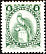 Resplendent Quetzal Pharomachrus mocinno  1987 Definitives