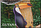Toco Toucan Ramphastos toco  2001 Animals of tropical rainforests 8v sheet