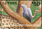 Grey Parrot Psittacus erithacus  2001 Animals of tropical rainforests 8v sheet