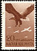 White-tailed Eagle Haliaeetus albicilla  1943 Horthy aviation fund 4v set