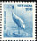 Sarus Crane Antigone antigone  2000 Animal definitives 4v set