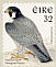Peregrine Falcon Falco peregrinus  1997 Birds, Falcon and Robin Strip, sa, SNP