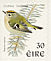 Goldcrest Regulus regulus  1998 Birds, Blackbird and Goldcrest Strip, sa, ISS