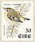 Goldcrest Regulus regulus  1998 Birds, Blackbird and Goldcrest Strip, sa, SNP