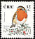 European Robin Erithacus rubecula  2001 Birds, dual currency