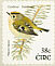 Goldcrest Regulus regulus  2002 Birds, Blackbird and Goldcrest Strip, sa