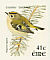 Goldcrest Regulus regulus  2002 Birds, Chaffinch and Goldcrest Booklet, sa, SNP