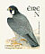 Peregrine Falcon Falco peregrinus  2003 Birds, Wagtail and Falcon Booklet, sa, ISS