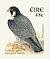 Peregrine Falcon Falco peregrinus  2003 Birds, Wagtail and Falcon Booklet, sa