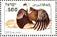 Griffon Vulture Gyps fulvus  1985 Biblical birds Sheet, s 33x23mm