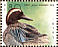 Garganey Spatula querquedula  1989 WORLD STAMP EXPO 89 Sheet, s 29x23mm