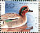 Eurasian Teal Anas crecca  1989 WORLD STAMP EXPO 89 Sheet, s 29x23mm