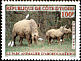 Western Cattle Egret Bubulcus ibis  2001 Abokouam� 4v set