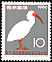 Crested Ibis Nipponia nippon  1960 International bird preservation congress