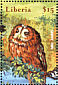 Tawny Owl Strix aluco  2002 Wind in the Willows 8v sheet