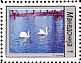 Mute Swan Cygnus olor  1994 Anti-cancer week 4v set