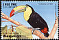 Keel-billed Toucan Ramphastos sulfuratus  1999 Wildlife of the rainforest 6v set