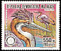 Purple Heron Ardea purpurea  1988 Endangered species 2v set