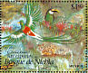 Emerald Toucanet Aulacorhynchus prasinus  1996 Protect Mexican wildlife 24v sheet