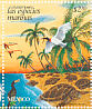 American Flamingo Phoenicopterus ruber  1998 Conservation of marine animals 25v sheet