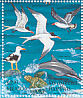 Elegant Tern Thalasseus elegans  1998 Conservation of marine animals 25v sheet
