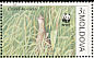 Corn Crake Crex crex  2001 WWF Sheet with 2 sets